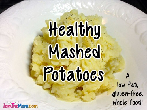 Low Fat Mashed Potatoes  Healthy Mashed Potatoes A Delicious Low Fat Gluten Free