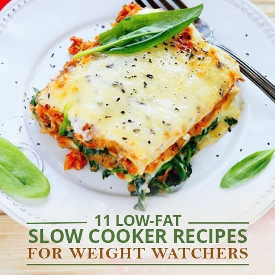 Low Fat Slow Cooker Recipes  11 Low Fat Slow Cooker Recipes for Weight Watchers