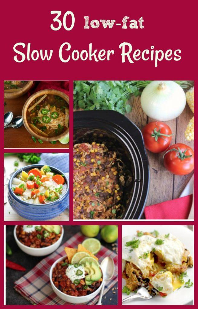 Low Fat Slow Cooker Recipes  30 Healthy Slow Cooker Recipes Healthy Crockpot Meals