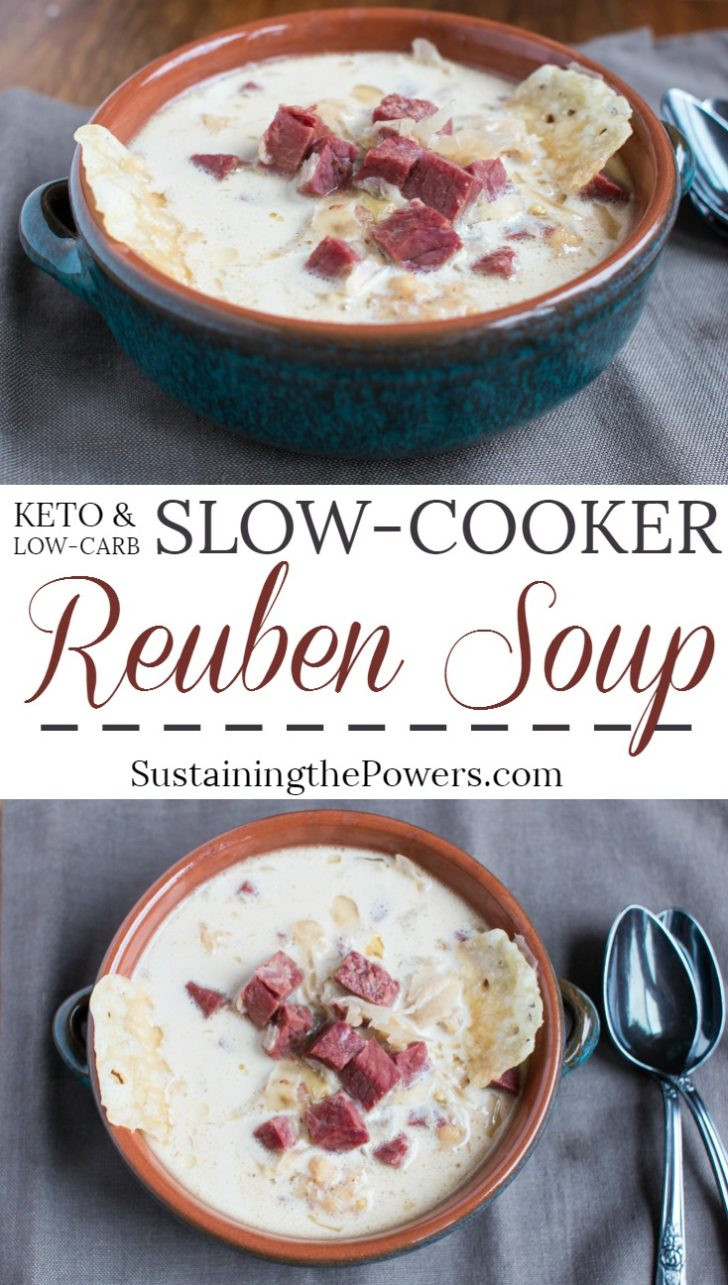 Low Fat Slow Cooker Recipes  Low Carb Slow Cooker Reuben Soup Crocktober 2016