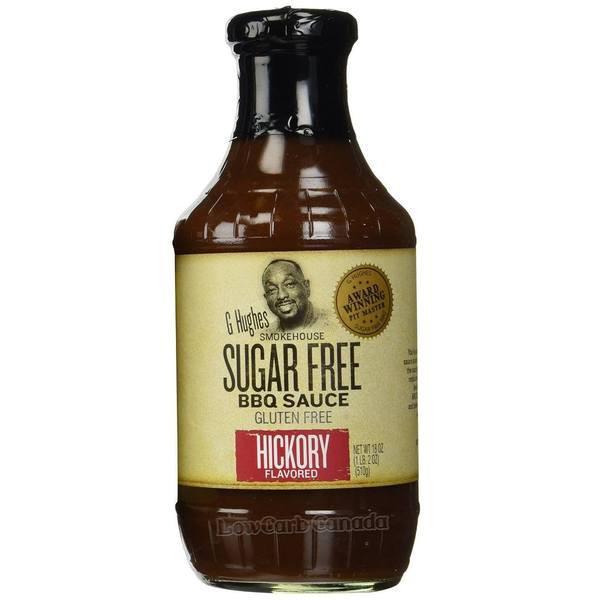 Low Sugar Bbq Sauce  G Hughes Smokehouse Sugar Free BBQ Sauce Hickory 18