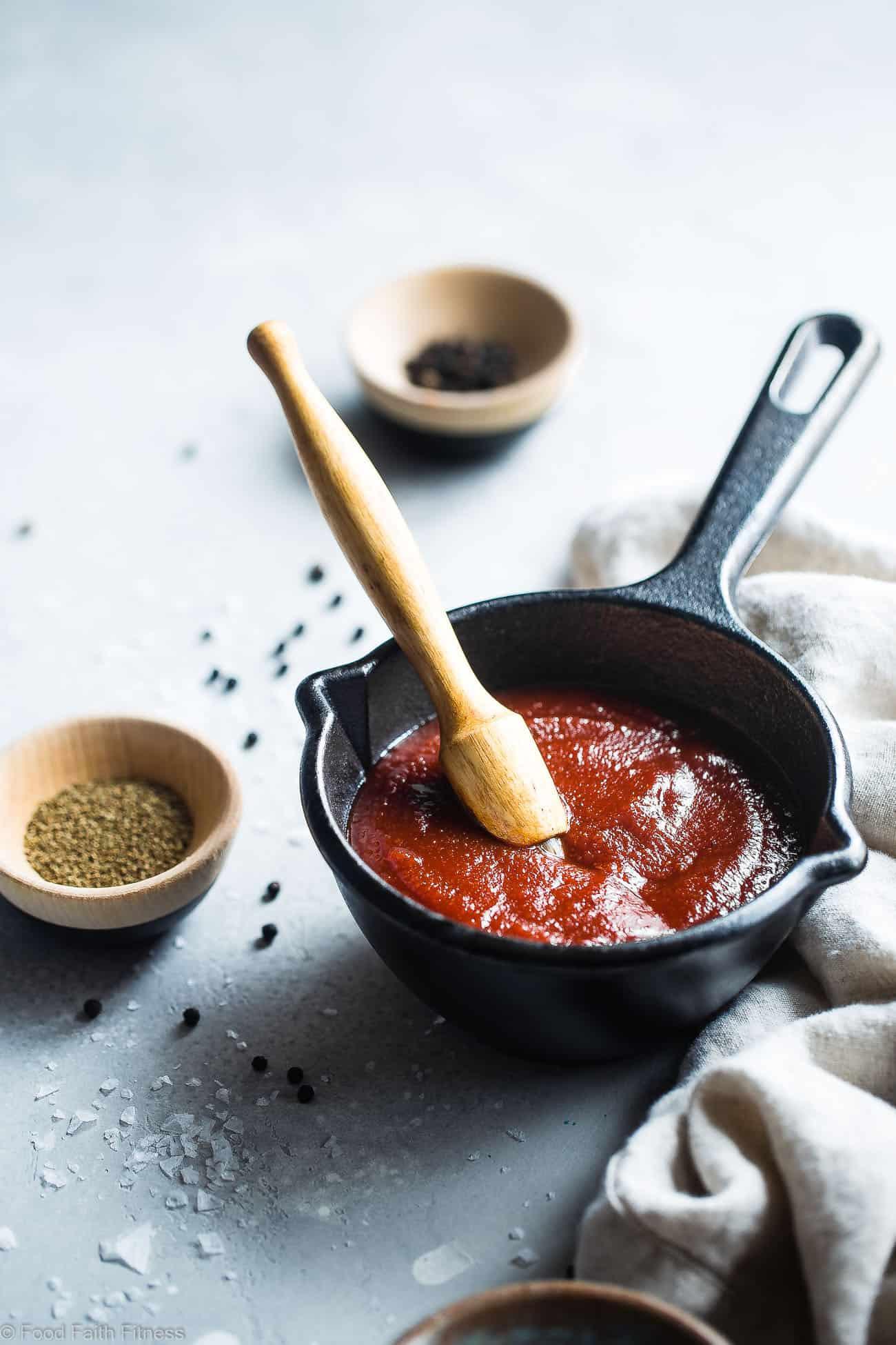 Low Sugar Bbq Sauce  Sugar Free Low Carb BBQ Sauce Recipe Food Faith Fitness
