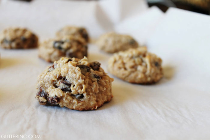 Low Sugar Oatmeal Cookies  Thick and Chewy Lower Sugar Oatmeal Raisin CookiesGlitter