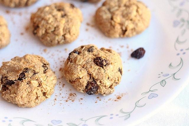 Low Sugar Oatmeal Cookies  Healthy Oatmeal Raisin Cookies Low Sugar Oatmeal with