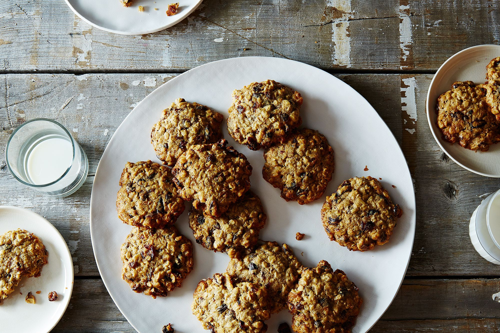 Low Sugar Oatmeal Cookies  Low Sugar Oatmeal Raisin Cranberry Cookies Recipe from