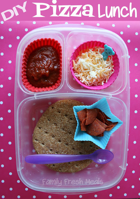 Lunchables Dessert Pizza  Make Your Own Pizza Lunchable Family Fresh Meals
