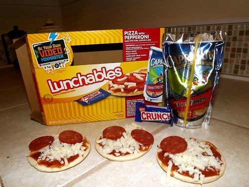 Lunchables Dessert Pizza  17 Problems ly Lunchables Kids Will Understand