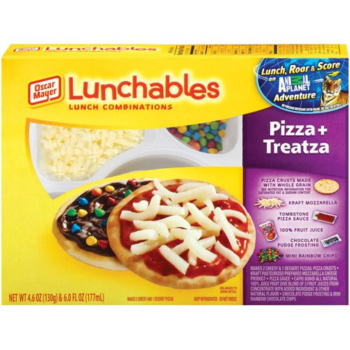 Lunchables Dessert Pizza  Lunchables Creator Won t Feed Them to His Own Kids