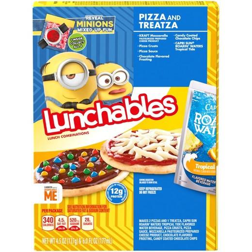 Lunchables Dessert Pizza  Oscar Mayer Lunchables Fun Pack Pizza & Treatza 10 5oz