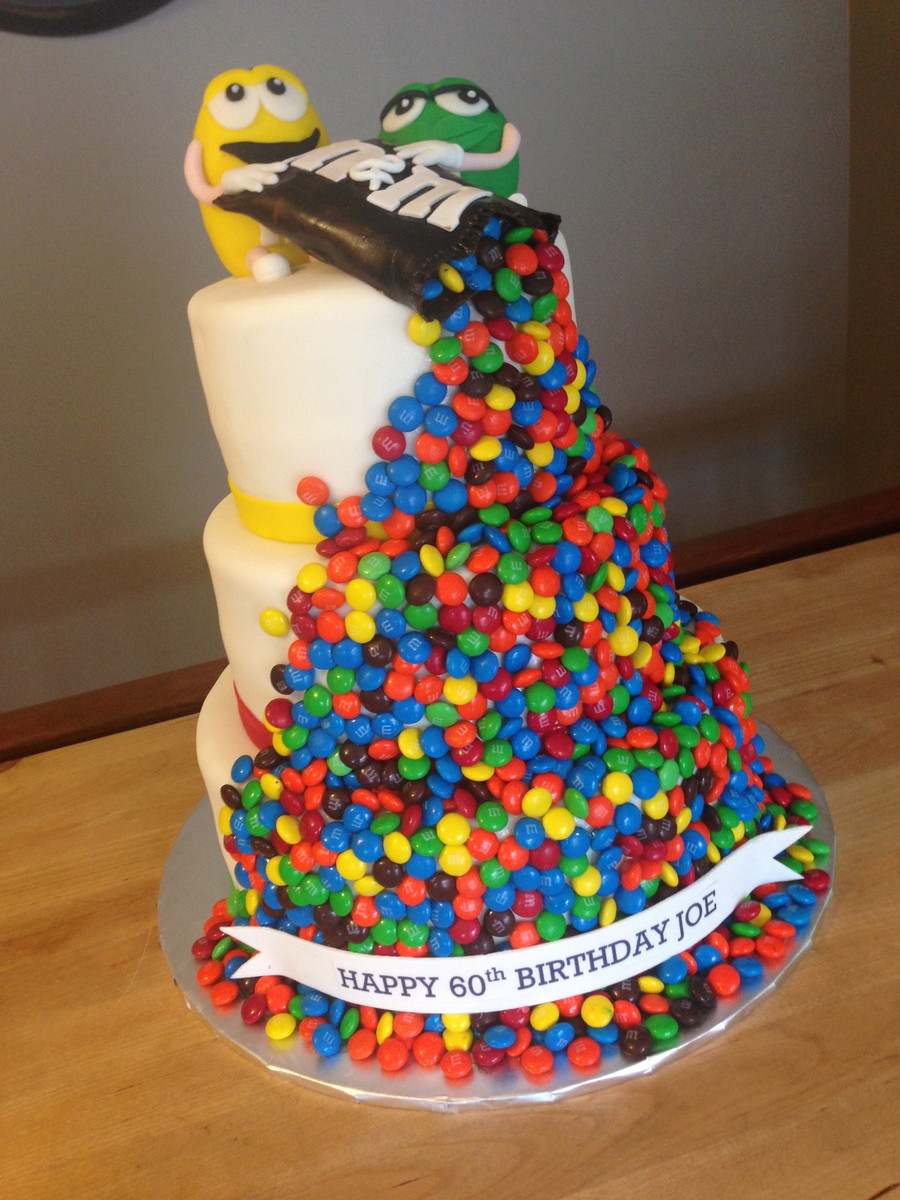 M.A.C Birthday Cake  M&m Cake CakeCentral