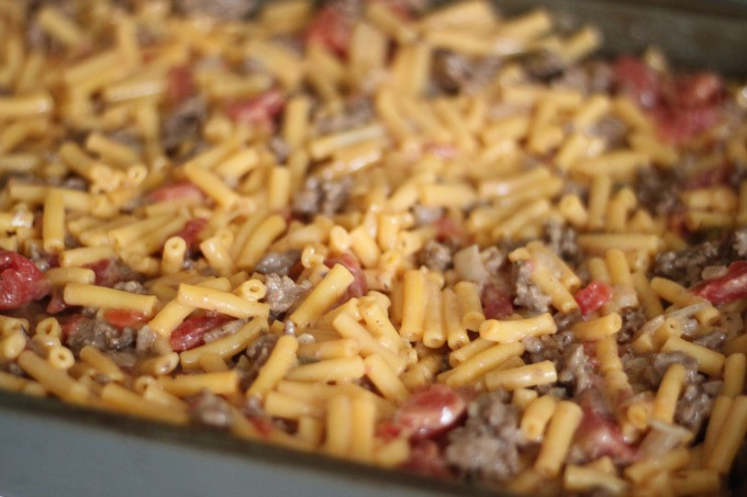 Mac And Cheese With Ground Beef  kraft mac and cheese recipes with ground beef