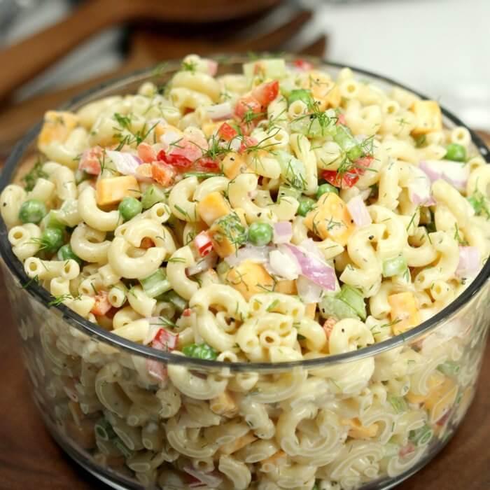 Macaroni Salad Recipe Easy  Easy macaroni salad recipe The Best Macaroni Salad recipe