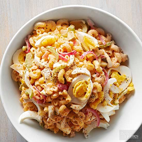 Macaroni Salad With Eggs  Deviled Egg Macaroni Pasta Salad