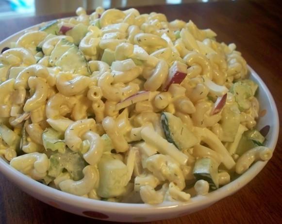 Macaroni Salad With Eggs  Macaroni Egg Salad Recipe Food