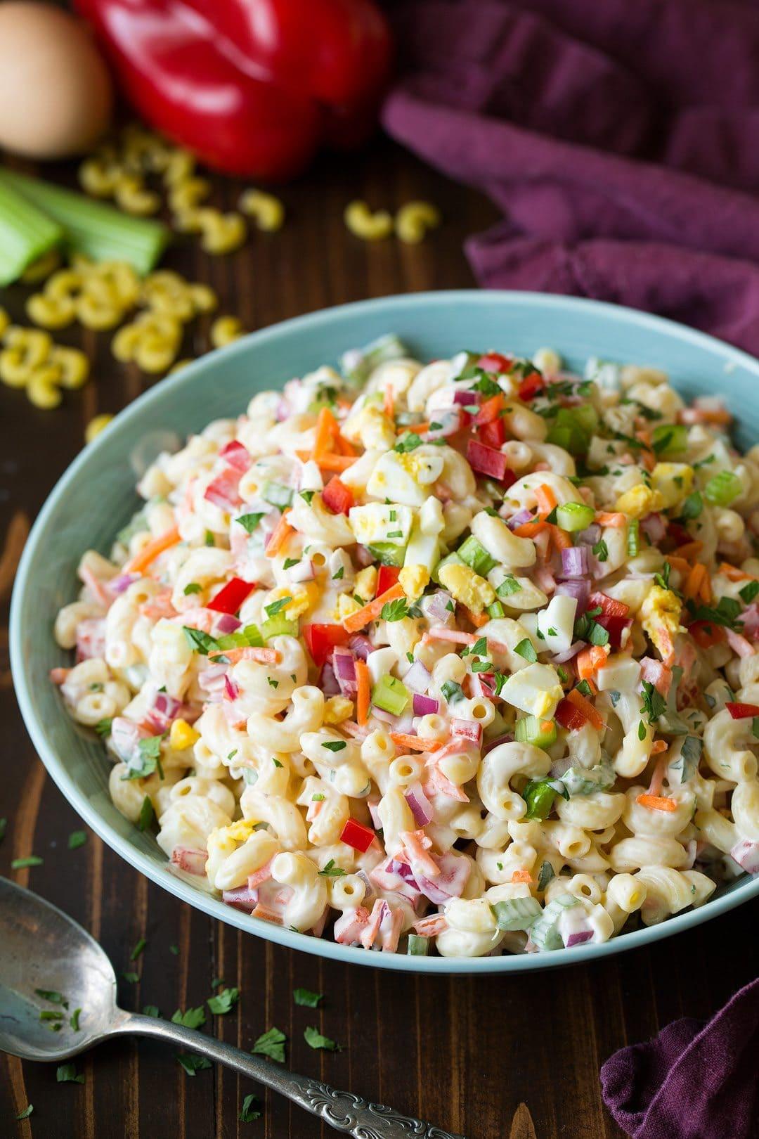 Macaroni Salad With Eggs  Classic Macaroni Salad Easy Go To Side Dish  Cooking