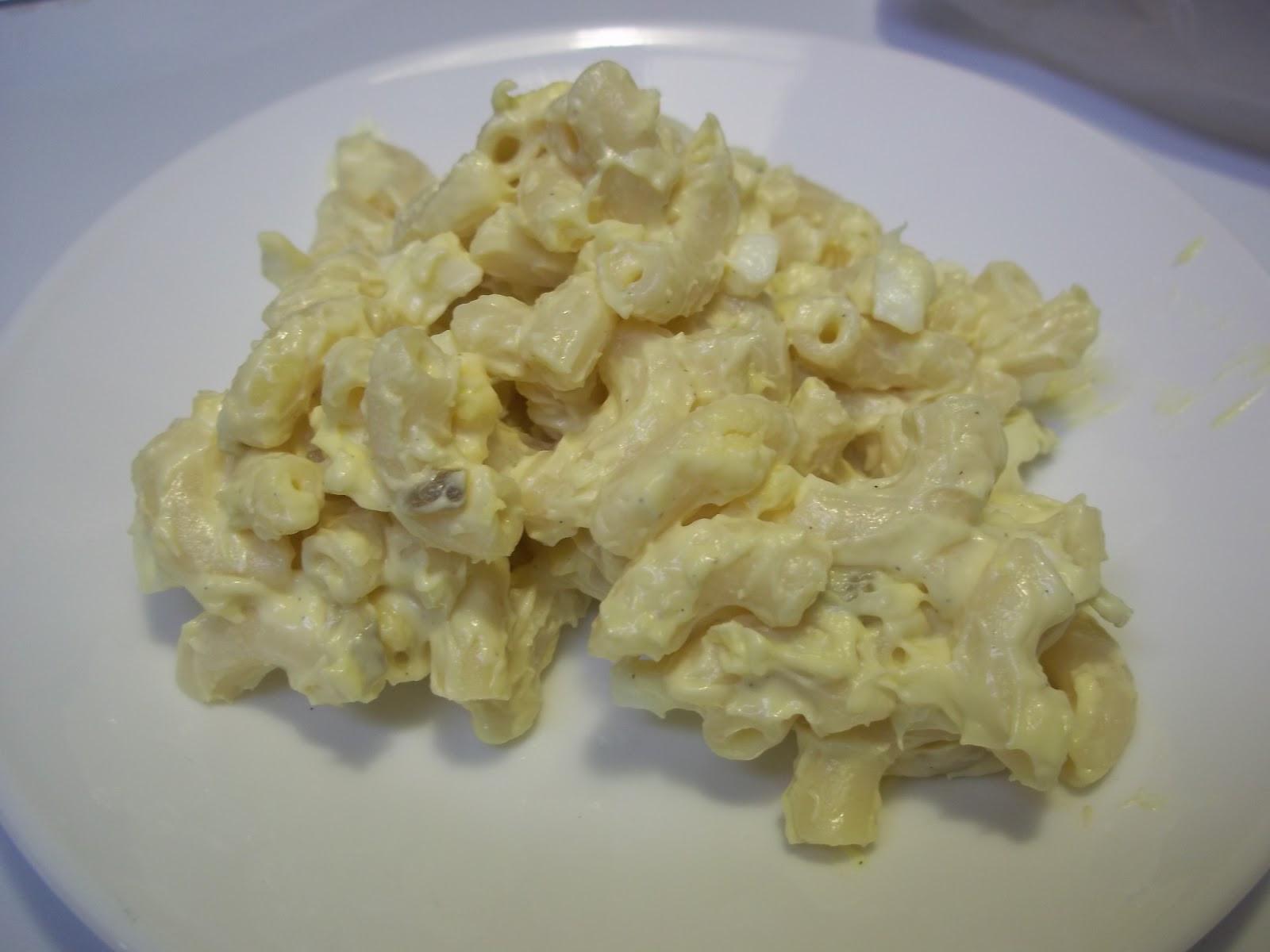Macaroni Salad With Eggs  Deviled Egg Pasta Salad