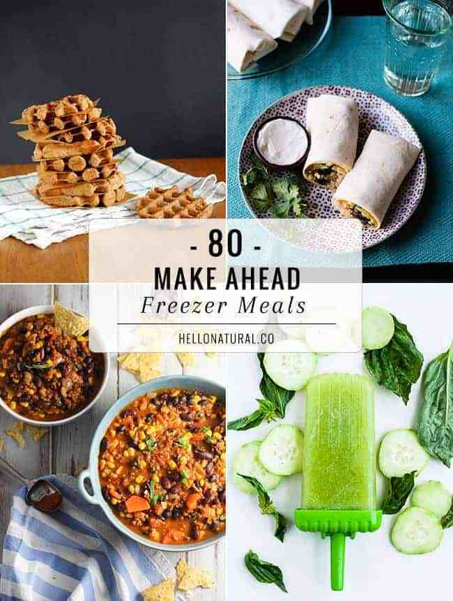 Make Ahead Breakfast Recipes To Freeze  80 Make Ahead Freezer Meal Recipes