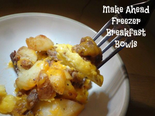 Make Ahead Breakfast Recipes To Freeze  Back to School Breakfast Make Ahead Freezer Breakfast