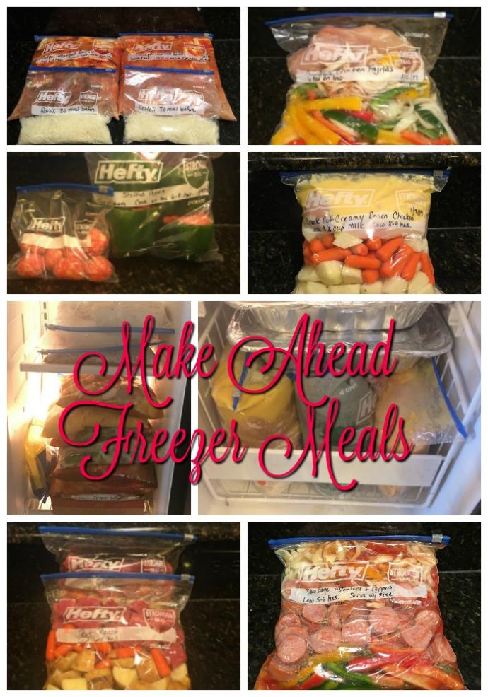 Make Ahead Dinners  Make Ahead Freezer Meals