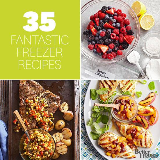 Make Ahead Dinners  35 Fantastic Freezer Recipes