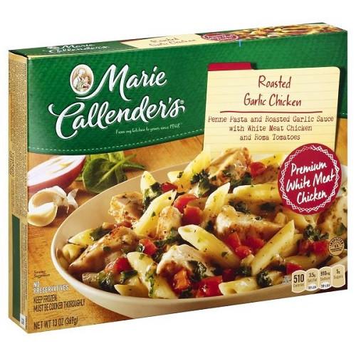 Marie Calendar Frozen Dinners  Marie Callenders