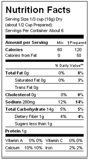 Mashed Potato Calories  Nutrition Facts For Kfc Mashed Potatoes And Gravy