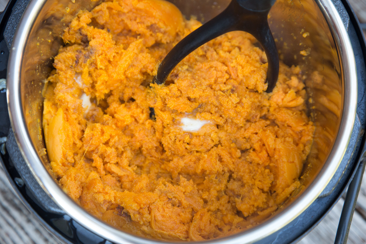 Mashed Sweet Potatoes Instant Pot  Instant Pot Mashed Sweet Potatoes $5 Dinners howlDb