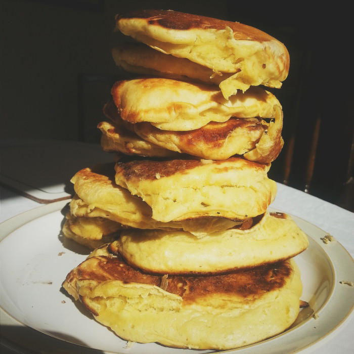 "Matty Matheson Pancakes  AMAZING Pancake Recipe from Vice's ""Munchies"" – The Patch"