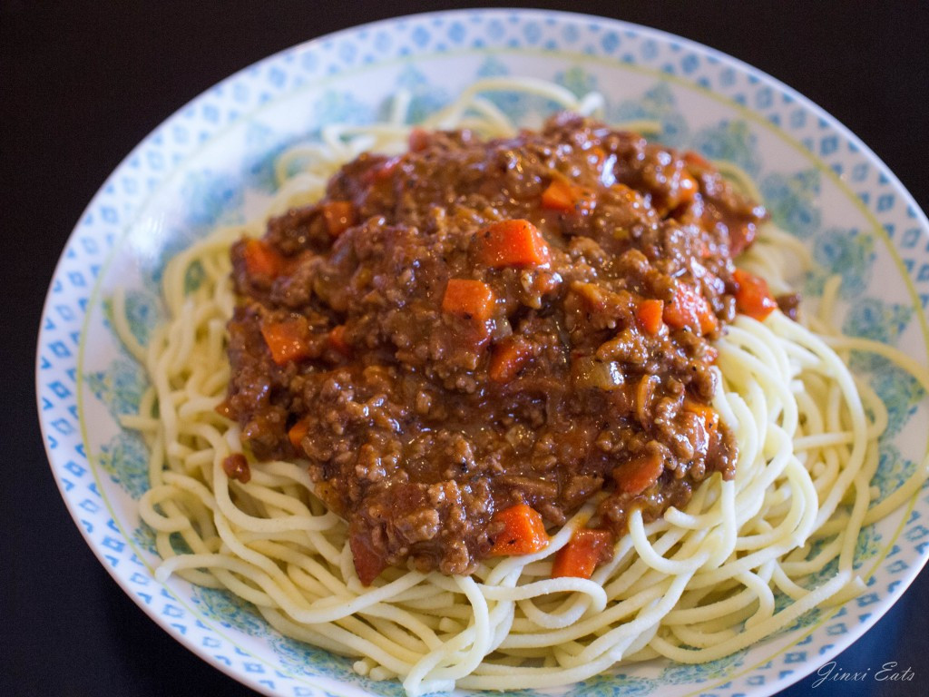 Meat Sauce For Spaghetti  [Recipe] Spaghetti with Meat Sauce