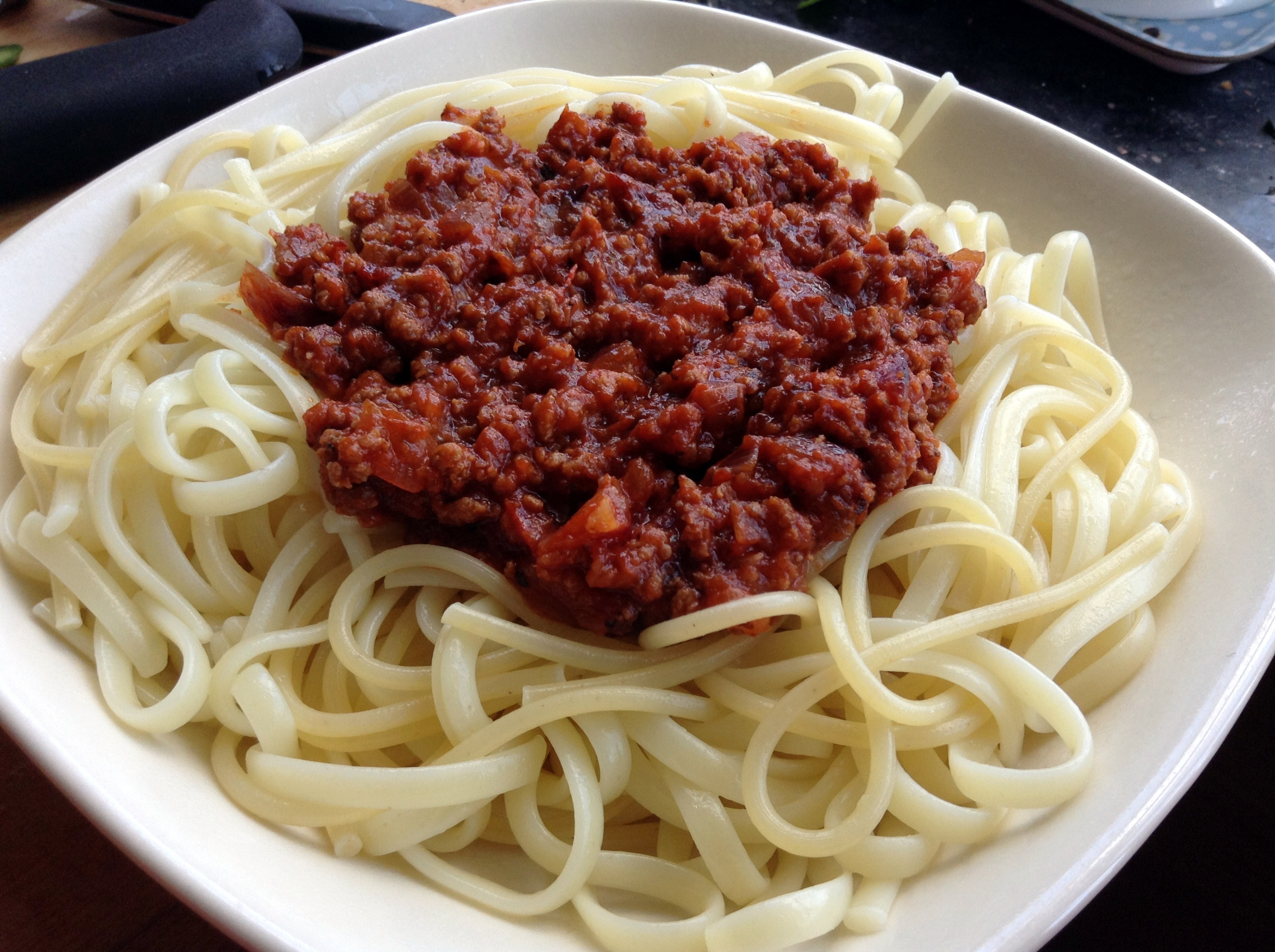 Meat Sauce For Spaghetti  Spa ti with Quick Meatsauce – Cansu s Kitchen