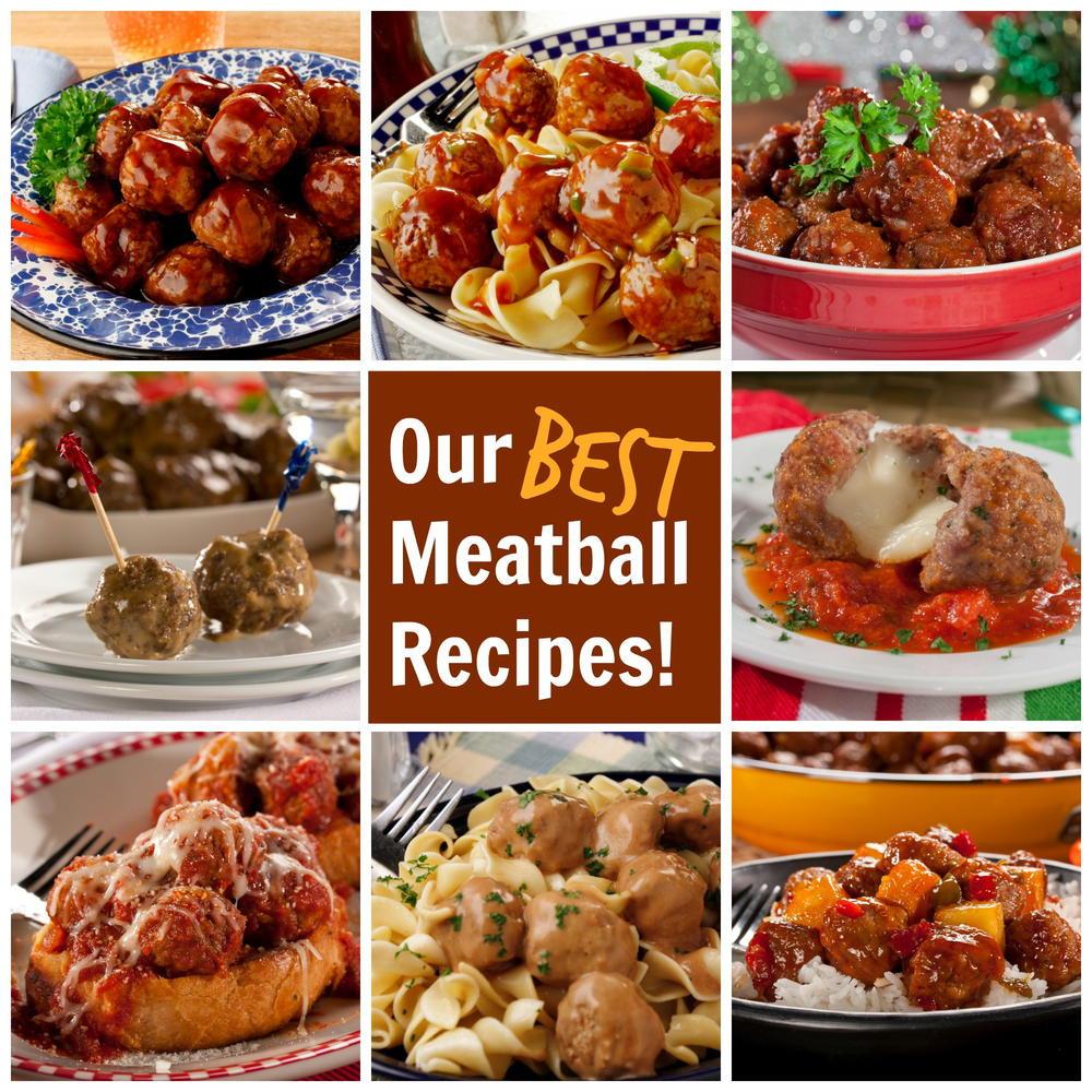 Meatball Dinners Ideas  Our Best Meatball Recipes