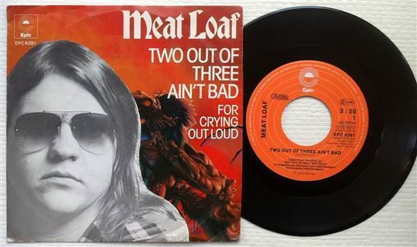 Meatloaf Two Out Of Three Ain'T Bad  MEAT LOAF Two Out Three Ain t Bad 1977 Dutch 7