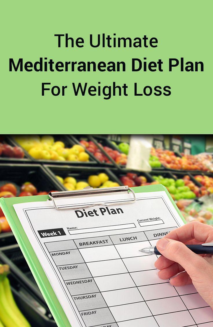 Mediterranean Diet Weight Loss  1000 images about Mediterranean t on Pinterest