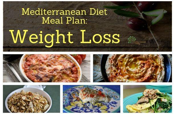 Mediterranean Diet Weight Loss  Mediterranean Diet Meal Plan Weight Loss Mediterranean