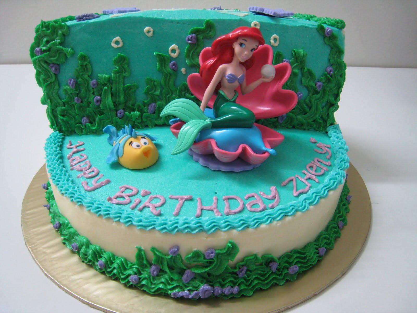 Mermaid Birthday Cake  Mermaid Cakes – Decoration Ideas