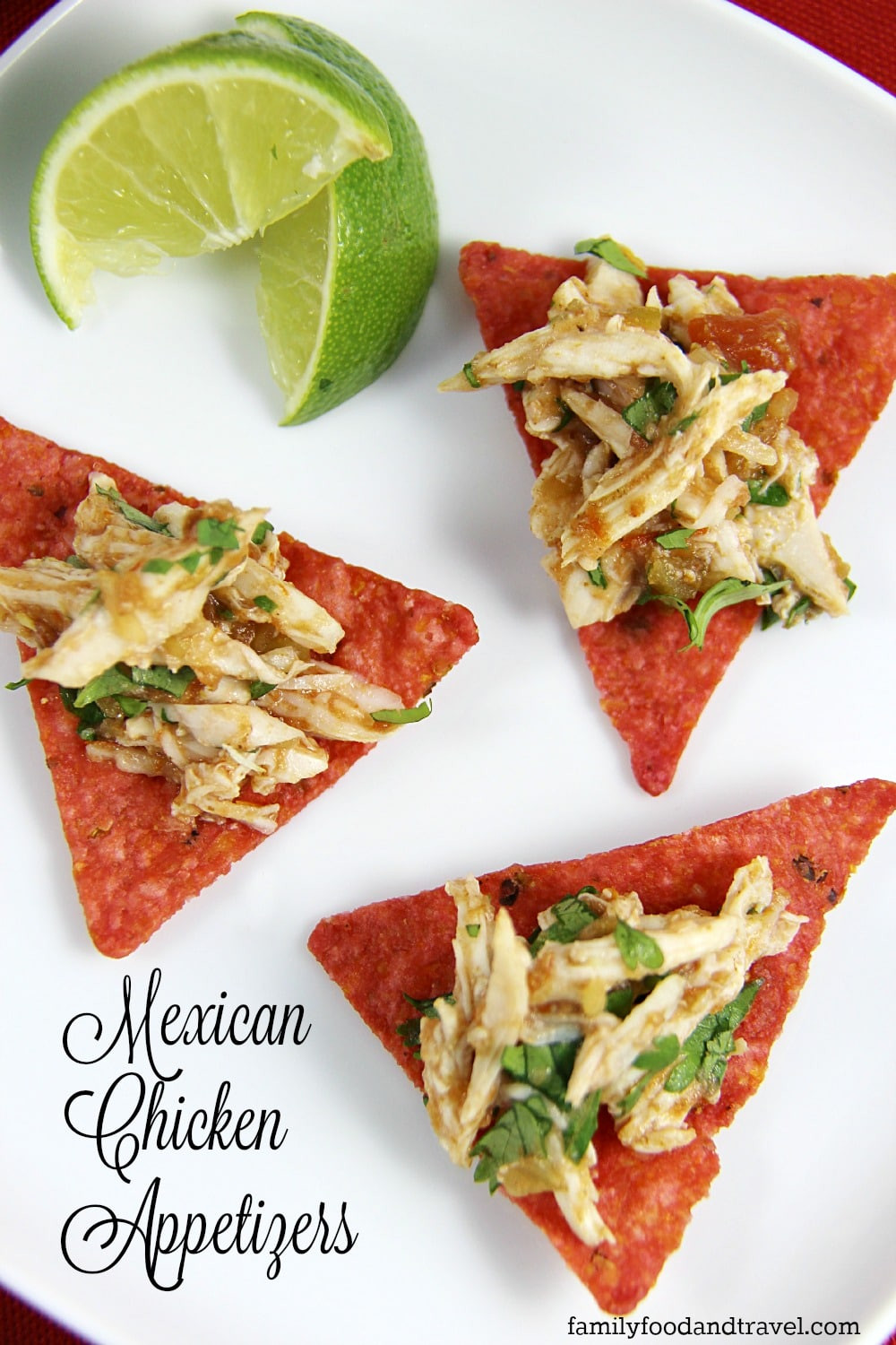 Mexican Food Appetizers  15 Minute Mexican Chicken Appetizers