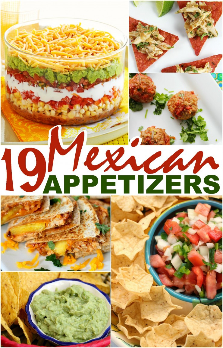 Mexican Food Appetizers  19 Mexican Appetizers Frugal Mom Eh