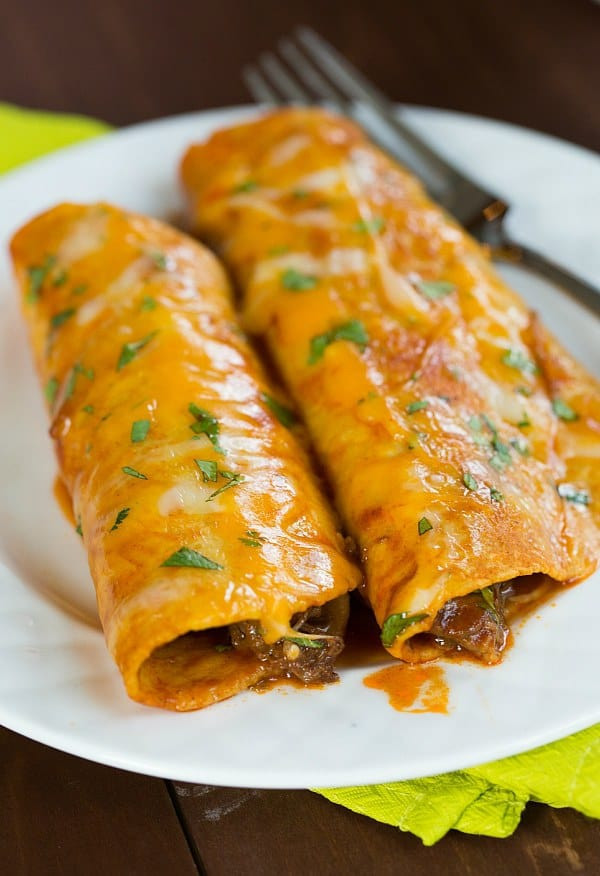 Mexican Ground Beef Recipes  authentic mexican ground beef enchiladas