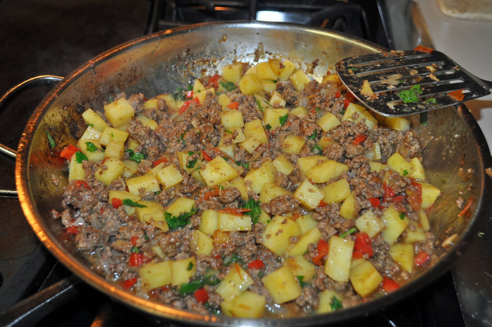 Mexican Ground Beef Recipes  My Cocina My Kitchen Mexican Picadillo