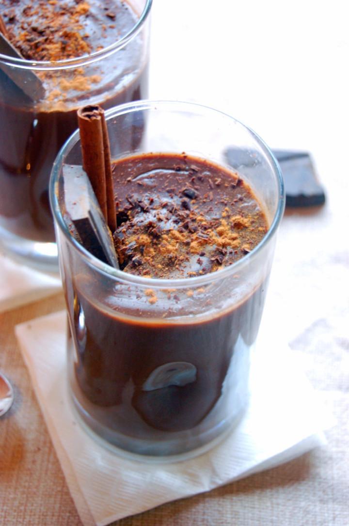 Mexican Hot Chocolate  Mexican hot chocolate pudding — Berkeleyside