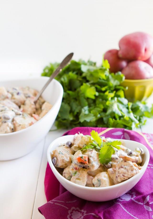 Mexican Potato Salad  Mexican Potato Salad