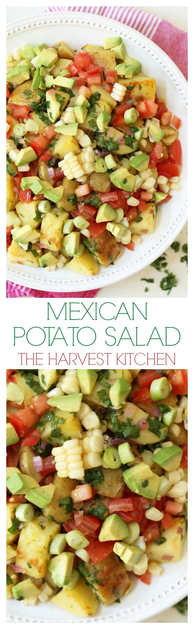 Mexican Potato Salad  Mexican Potato Salad The Harvest Kitchen