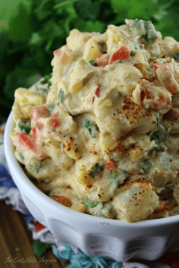 Mexican Potato Salad  Mexican Potato Salad Instant Pot