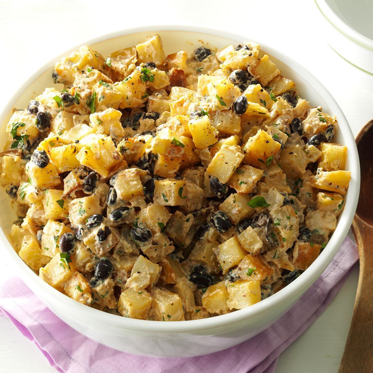 Mexican Potato Salad  Mexican Roasted Potato Salad Recipe