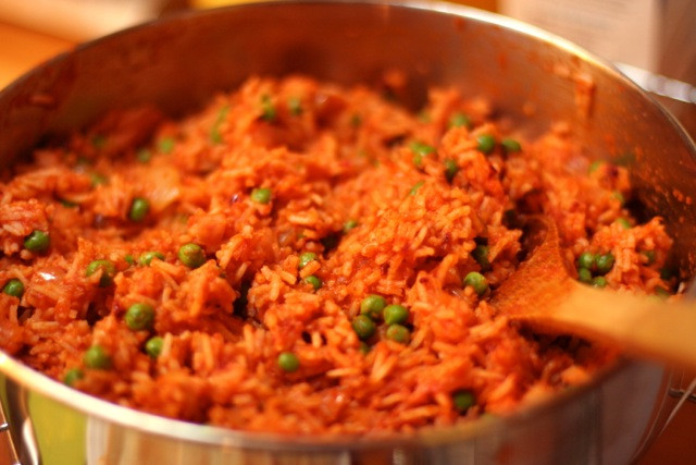 Mexican Red Rice  V e g a n D a d Easy Mexican Red Rice
