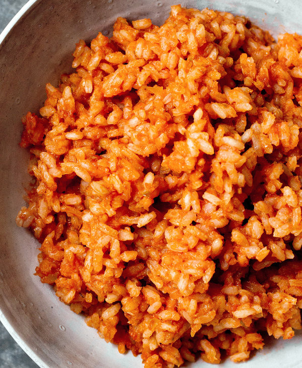 Mexican Red Rice  Mexican Red Rice Recipe — Dishmaps