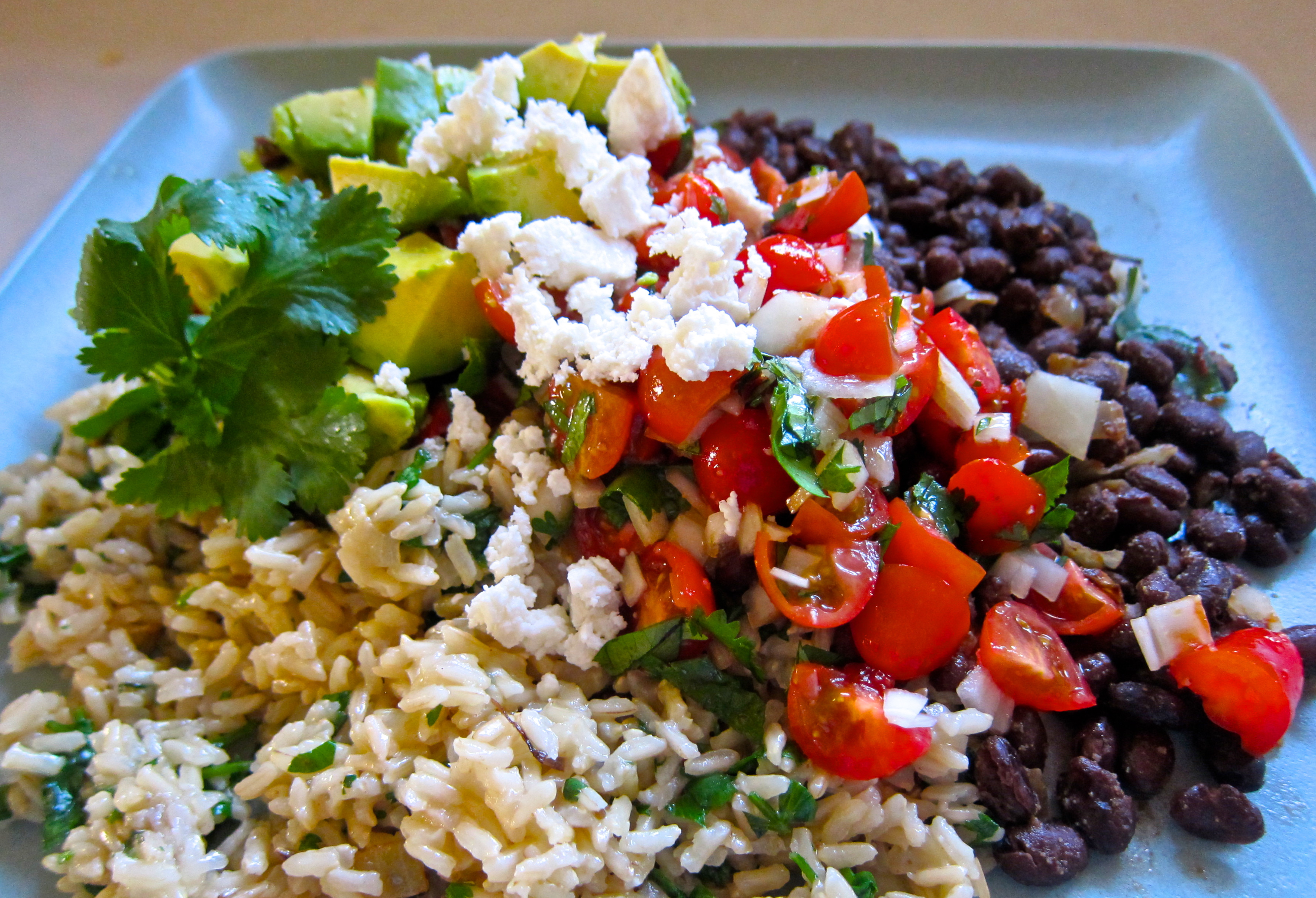 Mexican Rice And Beans  Mexican Brown Rice and Beans