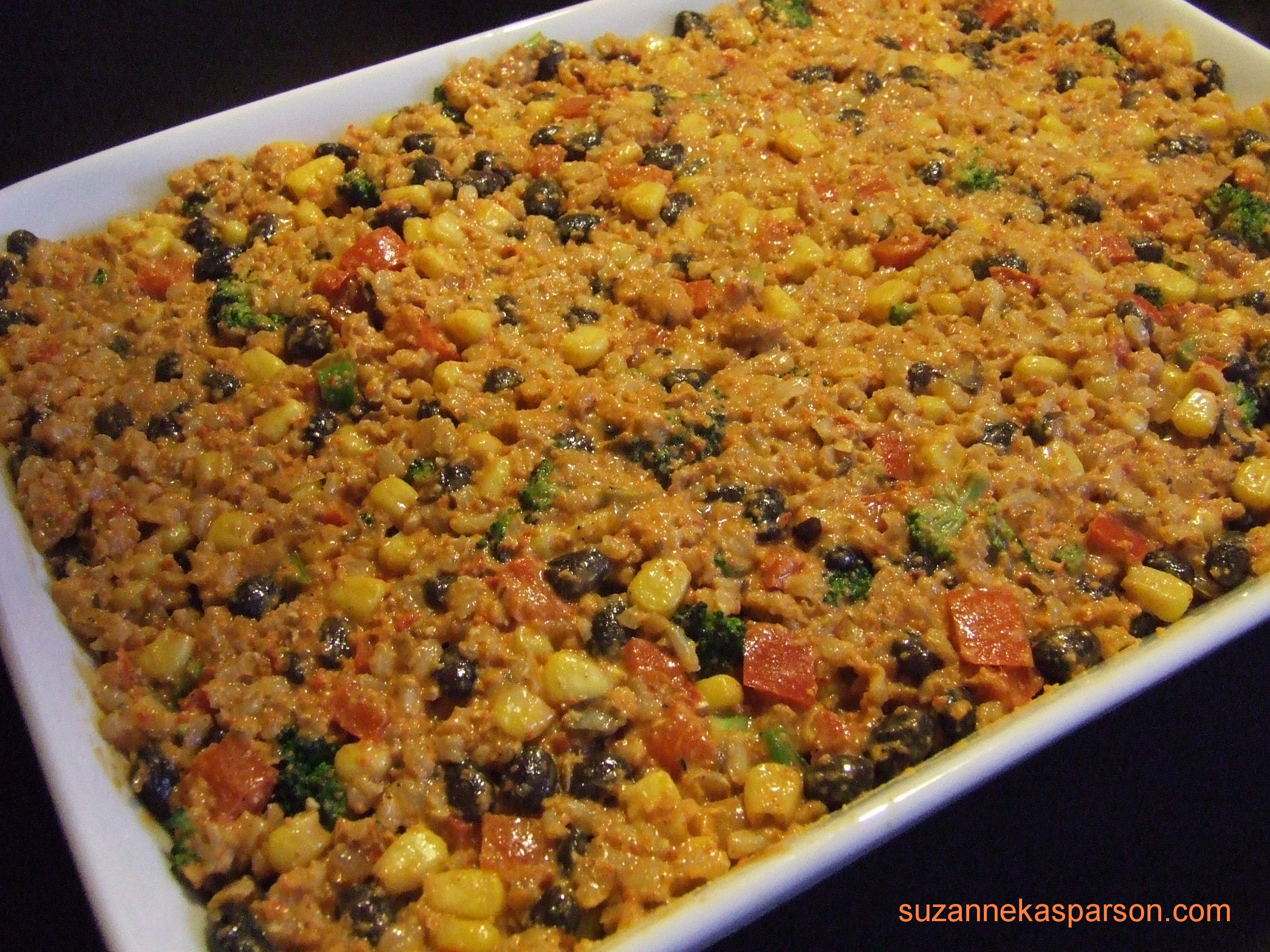 Mexican Rice And Beans  Mexican Rice and Bean Casserole