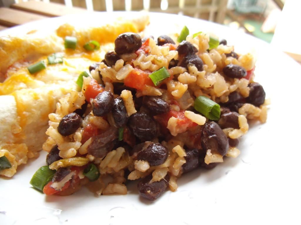 Mexican Rice And Beans  Mexican Tomato Rice And Beans Recipe — Dishmaps