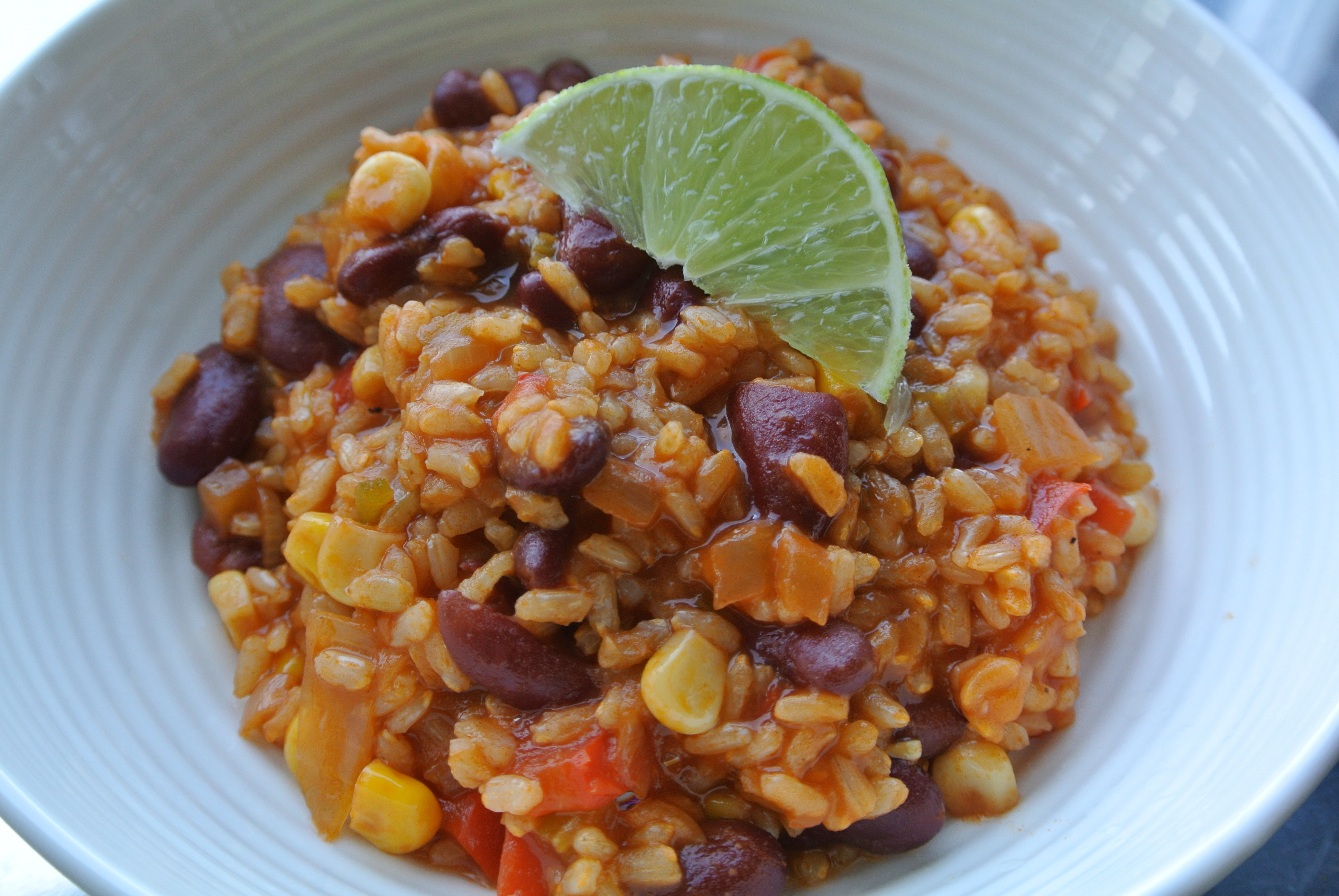 Mexican Rice And Beans  vegan mexican rice and beans
